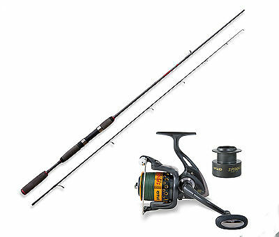 Lineaeffe Freshwater spinning rod & Braid Spin 030 Reel 8BB& braid Opt 4 sizes.