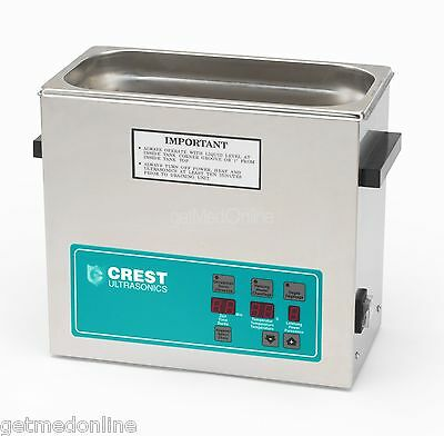 "NEW ! CP500D 1.5 Gal Ultrasonic Cleaner, Heat, Degas, Cover 11.75"" x 6"" x 6"""
