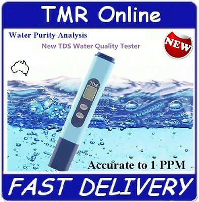 Water Purity Tester Total Dissolved Solids Meter Analysis Drinking Pure TDS
