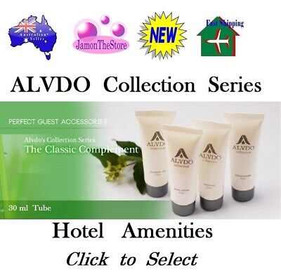 Alvdo Collection Hotel Amenities Shampoo Conditioner Shower Gel Body Lotion 40