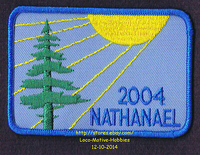 LMH PATCH Badge 2004 CAMP NATHANAEL  Boys Girls Camping  SMMM Ministry Nathaniel