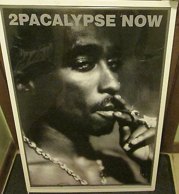 TUPAC SHAKUR 2 PAC SEALED NEW  RAP HIP HOP RARE SEALED  POSTER 2PACALYPSE NOW