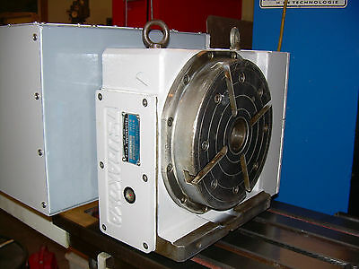 "4th Axis CNC Indexer 8"" Tsudakoma Rotary Table Full Fourth CNC Indexer Centroid"
