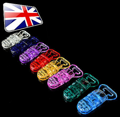 T-Shape Style Plastic Dummy/Badge/Craft Clips Packs of 1, 5, 10, 20, 25, 50, 100