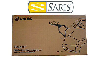 Saris Sentinel 2 Bike Car Trunk Rack Two Bicycle Carrier Sentinal Fast Ship USA