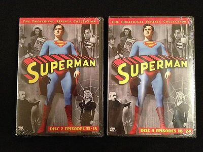 Superman The Theaterical Series Collection Disc 2 & 3 Brand New!