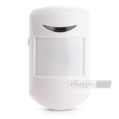 433MHz Wireless Wide Angle Infrared IR PIR Motion Detector for Home Security