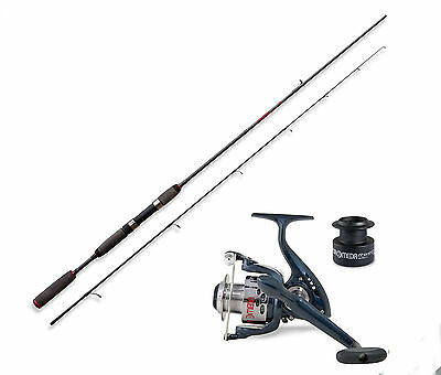 Lineaeffe Freshwater spinning rod & Andromeda 040 Front Drag Reel Opt 4 sizes.