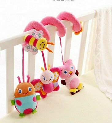 New Hot! Sozzy Soft Crib Toy Animal Friends Pull Ring Bed Around Baby Toys