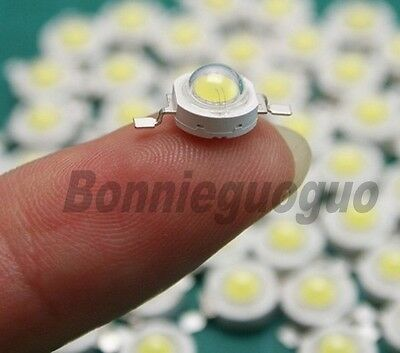 100 pieces/lot  1W High Power LED Beads 350Ma Led Lamp Beads 80~90Lm Wholesale