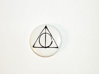Harry Potter Button Pin- #76 Deathly Hallows
