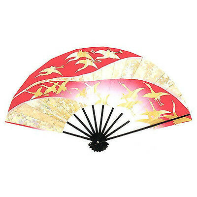 DM-D07452 Traditional Folding fan JAPAN JAPANESE Sensu