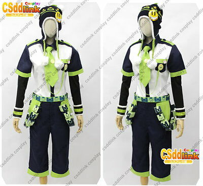 Seragaki Noiz Cosplay whole Costume from DMMD DRAMAtical Murder with hat