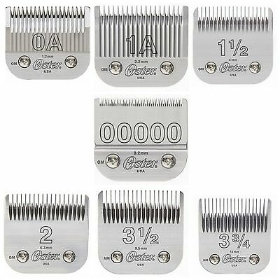 Oster 76 Clipper Replacement Blades Power Pack! 7 Blades! Best Selling Blades!