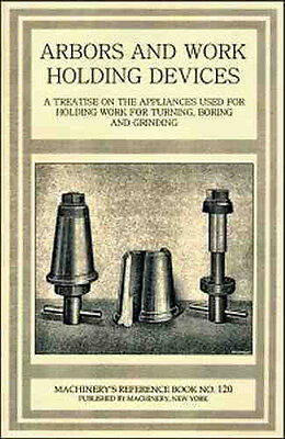 ARBORS & Work Holding Devices – Metal Cutting - 1914 - reprint