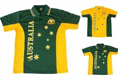 Adult Mens Sports Soccer Football Rugby Jersey Polo T Shirt Australia Souvenir