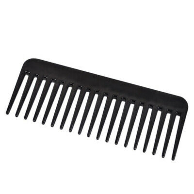 New 19 Teeth Heat-resistant Large Wide Detangling HairdressingTooth Comb Gift