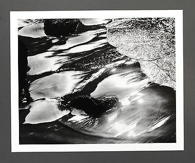 Robert Werling Photo Kunstdruck Art Print 43x35cm Coast Water Light B&W Shining