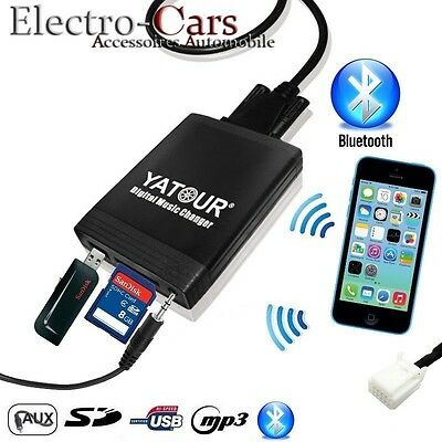 Interface Usb Bluetooth Adaptateur Mp3 Autoradio Compatible Volkswagen Touareg