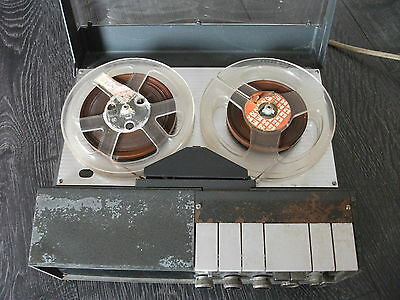 Vintage Uher 4400 Report Stereo  Reel to Reel Field Recorder