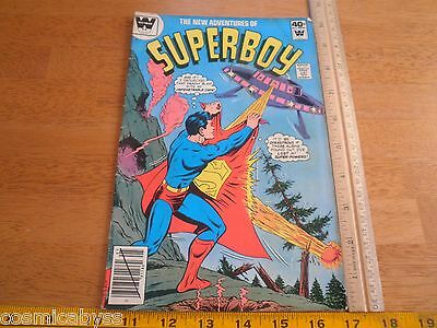 The New Adventures of Superboy #5 Whitman Variant HTF 1970's Bronze age comic VG