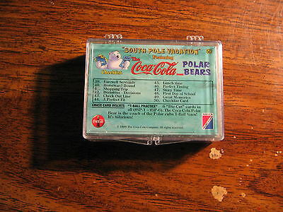 Coca-Cola Polar Bears South Pole Vacation Trading cards 1-50 1996