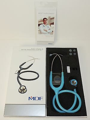 MDF 777 Child MDF3 BluBabe Pastel Blue MD One Pediatric Stethoscope NEW IN BOX