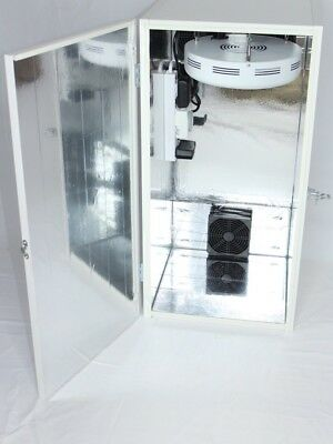 300 Watt LED Grow Box Stealth  Cabinet Dirt Or Hydroponic Carbon Filter