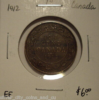 Canada George V 1912 Large Cent - EF