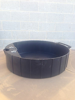 *NEW* Oil And Other Fluids Drain Pan 6 Gallon Capacity  Heavy Duty ABS 107g-DP