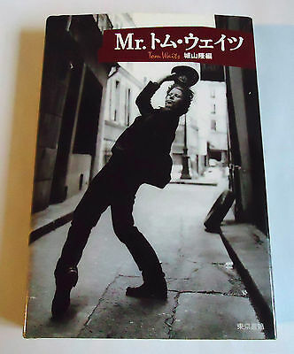 Mr. TOM WAITS JAPAN BOOK 1998 inc. Japan Tour 1977 Photo Documentary