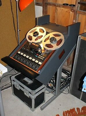 USED VINTAGE 1970s TEAC 80-8 WITH SOUND SAMPLE STAND  REEL TO REEL TAPE RECORDER