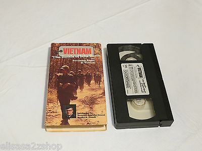 Vietnam The Battle of Khe Sanh Screaming Eagles VHS rare tape 9047 war soldiers