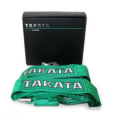 TAKATA racing seatbelts 2 or 4 seater car belts 4 point sparco schrot
