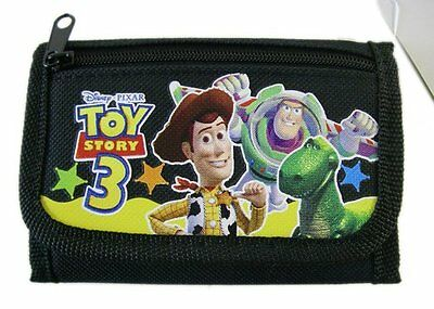 Disney Black Toy Story Trifold Wallet-Toy Story 3 Black Wallet-Brand New!