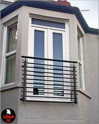 Juliet balcony metal balustrade p.coated wrought iron design 18 of 26 Jullimett