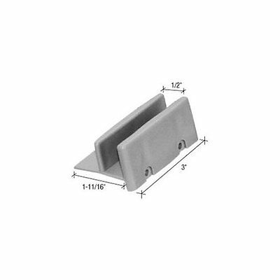 """1-1//2/"""" Sliding Shower Door Jamb Guide and Bumper Set Same Day Free Shipping"""