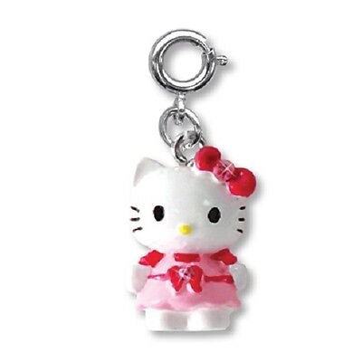 BNWT Charm It! HELLO KITTY PRETTY IN PINK clip-on charm for girls