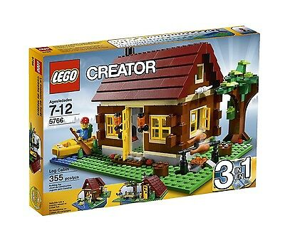 NEW SEALED Lego Creator 5766 Log Cabin NISB