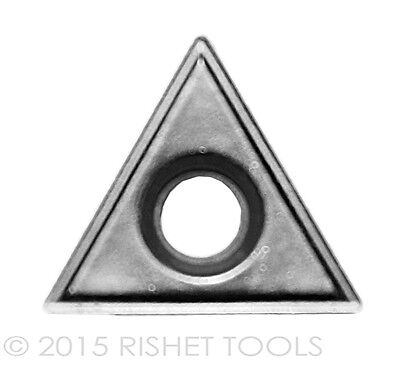 RISHET TOOLS TT 221 C2 Uncoated Carbide Inserts (10 PCS)