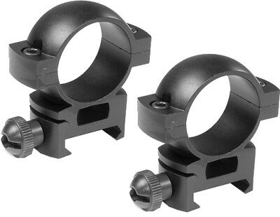 Barska Weaver Style See Through High Scope Ring Mount For 1 inch, AI10336