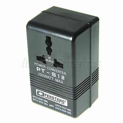 Dual Up Down 110V/120V to 220V/240V Voltage Power Transformer Adapter Converter