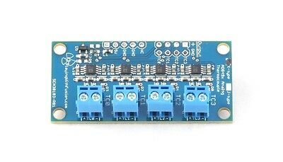 Quad-Channel J-Type / K-Type Thermocouple Amplifier, AD8494/AD8495, Arduino Comp