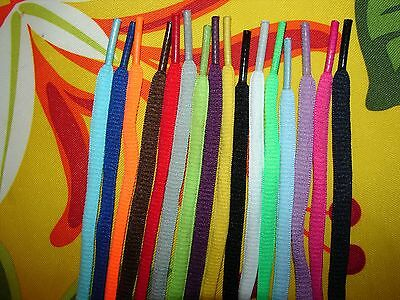 45in 16-color Choices Oval Athletic Sports Shoelaces