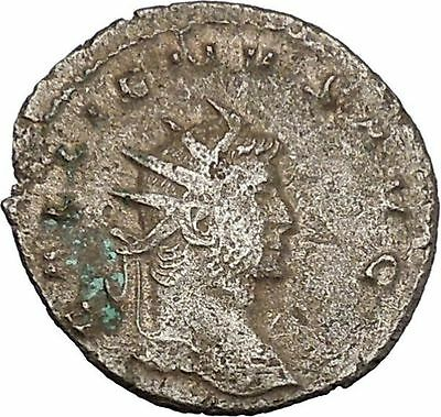 Gallienus Valerian I son Sole reign 260AD  Ancient  Roman Coin Jupiter   i45687
