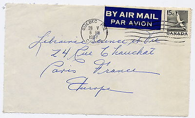*** Enveloppe timbrée *** Canada - 1957 / ref 338
