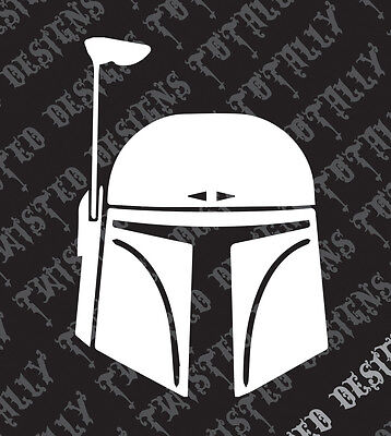 Star Wars Boba Fett 1 car truck vinyl decal sticker empire darth vader jedi yoda