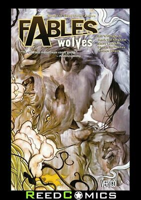 FABLES VOLUME 8 WOLVES GRAPHIC NOVEL New Paperback Collects #48-51 + #50 Script
