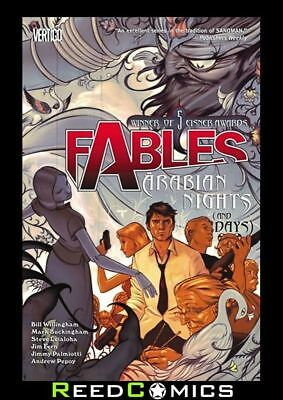 FABLES VOLUME 7 ARABIAN NIGHTS AND DAYS GRAPHIC NOVEL New Paperback #42-47