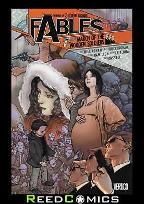 FABLES VOLUME 4 MARCH OF THE WOODEN SOLDIERS GRAPHIC NOVEL New #19-21 and #23-27